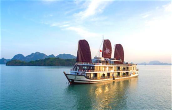 Crucero Azalea 3 días 2 noches en la Bahía de Halong cover