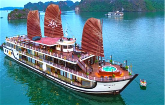 Orchid Cruise 3 días 2 noches en la Bahía de Halong