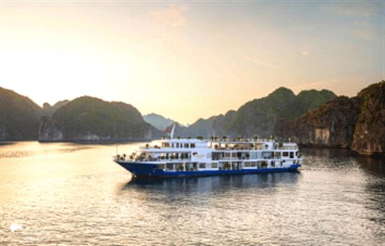 Crucero Mon Chéri 3 días 2 noches en la Bahía de Halong