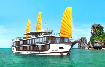 Peony Cruise 2 días 1 noche en la bahía de Halong