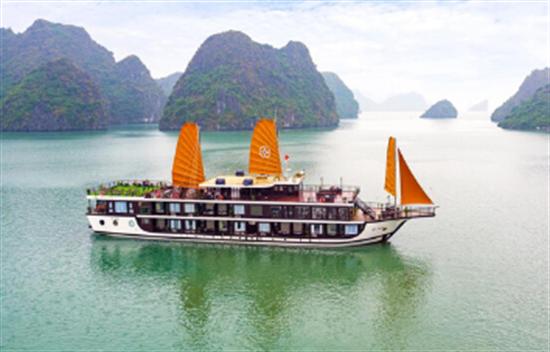 Peony Cruise 3 días 2 noches en Bahía de Halong cover