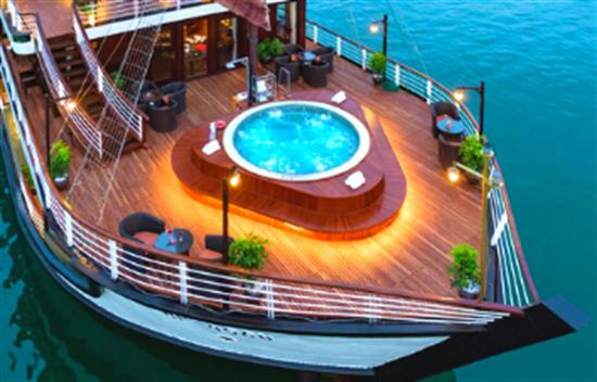 Orchid Cruise 2 días 1 noche en la Bahía de Halong