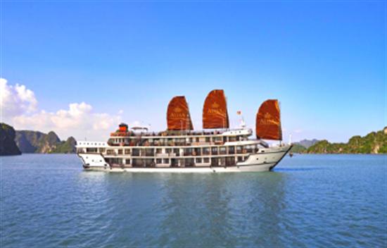 Crucero Alisa Premier 2 días 1 noche en la Bahía de Halong