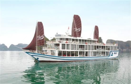 Crucero La Pinta 3 días 2 noches en la Bahía de Halong cover