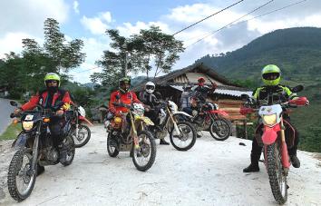 Cruzar la frontera de Vietnam y Laos en moto - 10 días