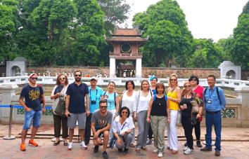 Tour por la ciudad de Hanoi de día completo
