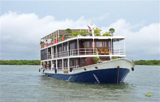 Crucero Toum Tiou I de 8 días: Ho Chi Minh a Siem Reap cover