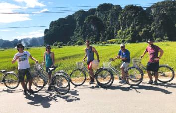Excursión en bicicleta por Hanoi - Cuc Phuong - Tam Coc en 3 días