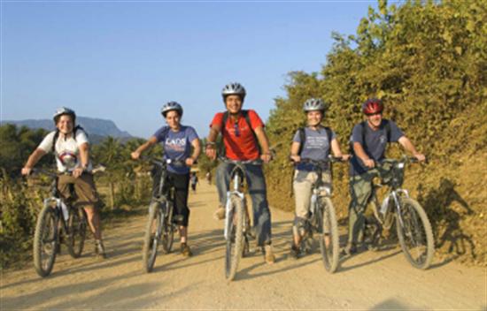 Excursión en bicicleta de Vietnam y Laos - 15 días